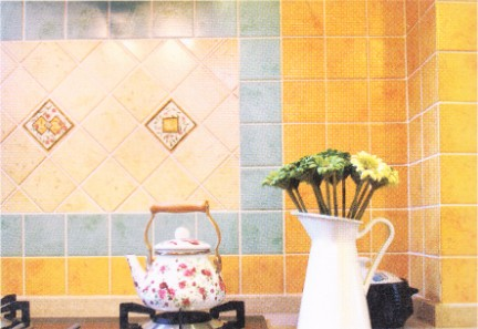 厨房选择花砖宜考虑整体感
